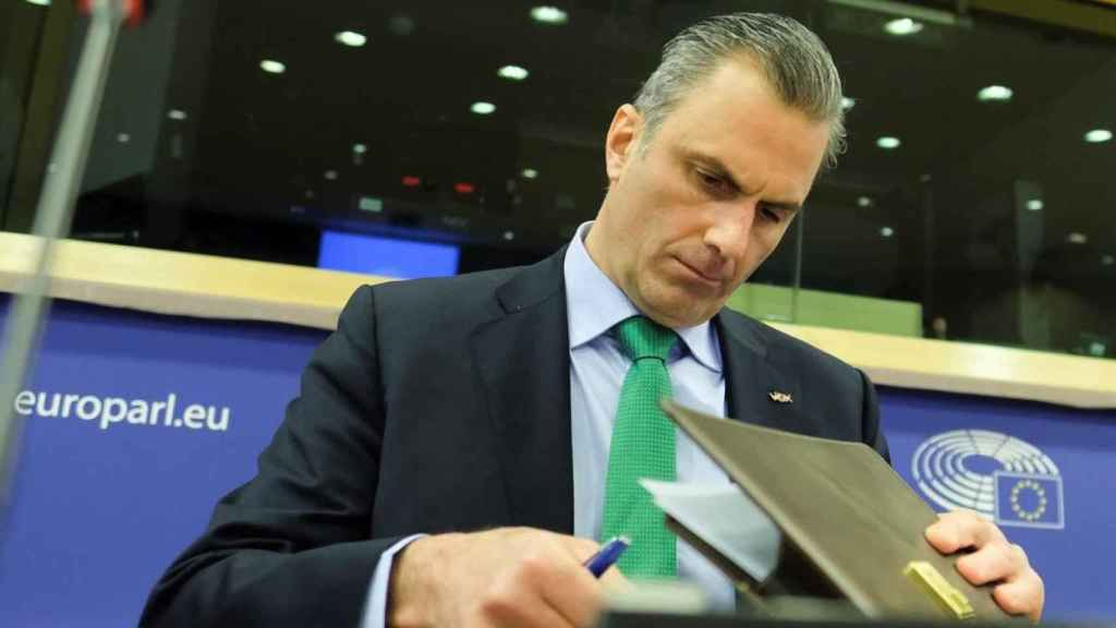 El secretario general de Vox, Javier Ortega Smith, en una imagen de archivo.