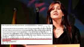 Laura Borràs, portavoz de Junts per Catalunya en el Congreso./