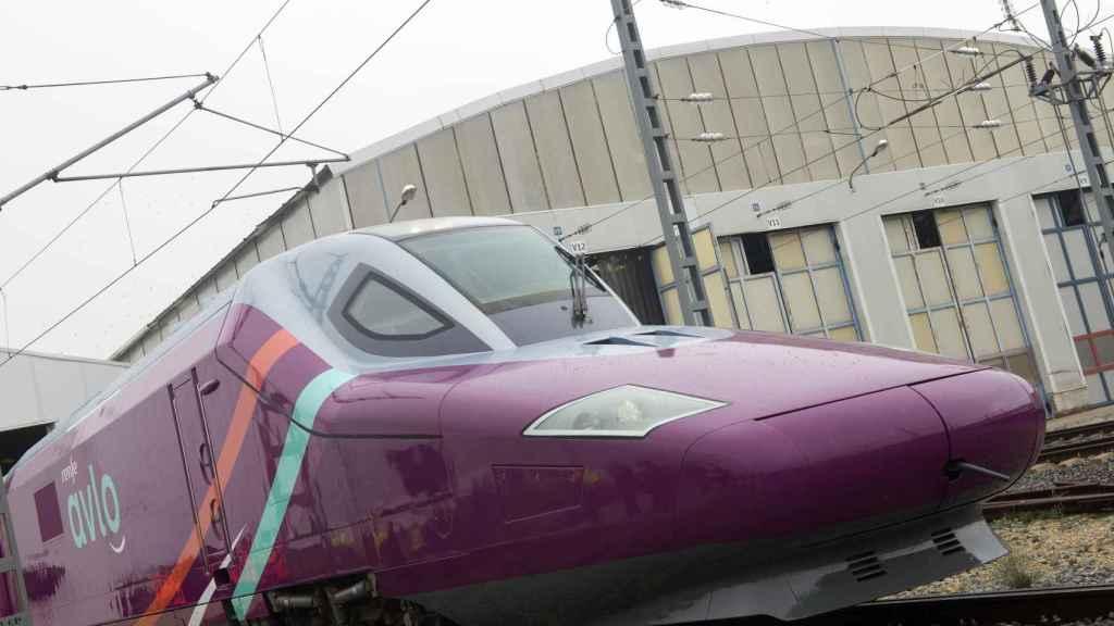 Un tren de Avlo, el servicio low cost de Renfe.