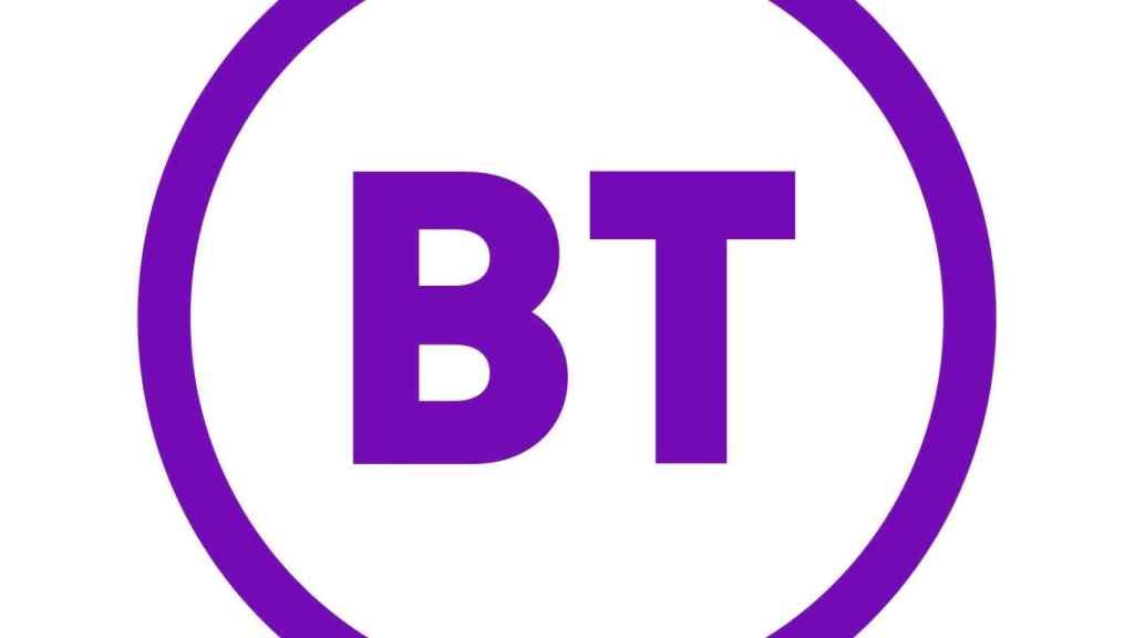 El logo de BT.