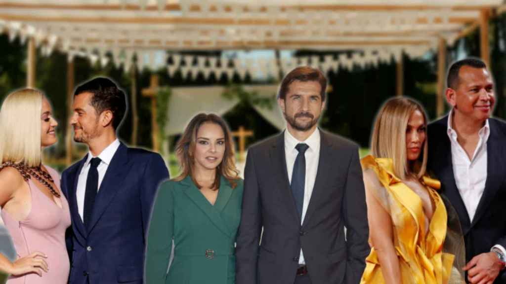 Montaje de JALEOS con algunas de las parejas que se casan en 2020.