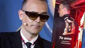 Risto Mejide ha querido vestir para la final de 'Got Talent' una chaqueta muy especial.