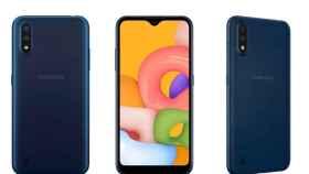 Nuevo Samsung Galaxy A01: el móvil más básico de Samsung con 128 GB