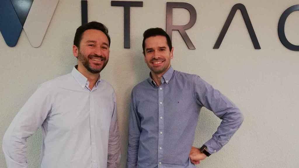 Los fundadores de la startup valenciana Witrac, Javier Ferrer y Pep Pons.