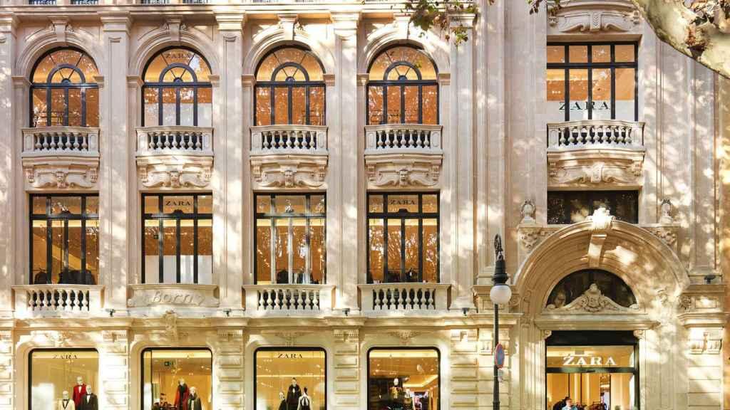 Tienda Zara en Mallorca.