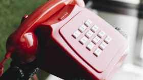 Imagen del icónico teléfono de Línea Directa.
