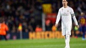 Sergio Ramos en El Clásico