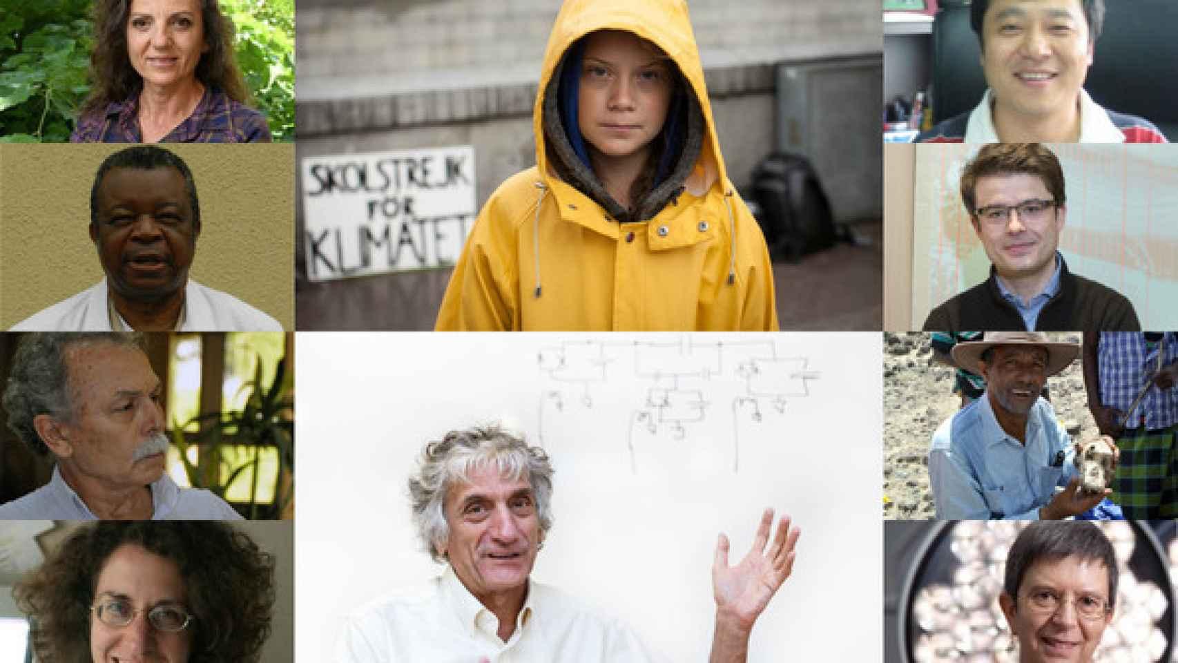 Las diez personas más importantes de la ciencia de 2019 según la revista 'Nature'.