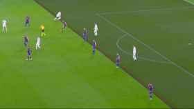 Gol anulado a Gareth Bale por fuera de juego previo