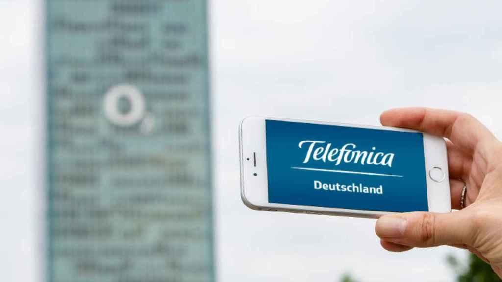 Imagen de archivo de la sede de Telefónica Alemania.