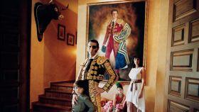 La imagen de Padilla y su familia se hizo hace 7 años para un reportaje de la revista GQ