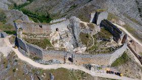 Imagen del castillo de Osma.