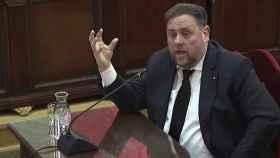 Oriol Junqueras en el juicio del 'procés'.