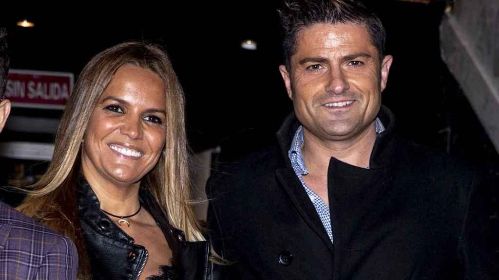 Marta López y Alfonso Merlos, en su última aparición pública.