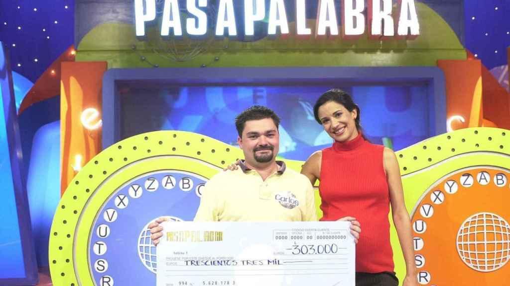 Silvia Jato en 'Pasapalabra' (EFE)