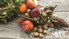 Nueces, alimento de temporada en invierno.