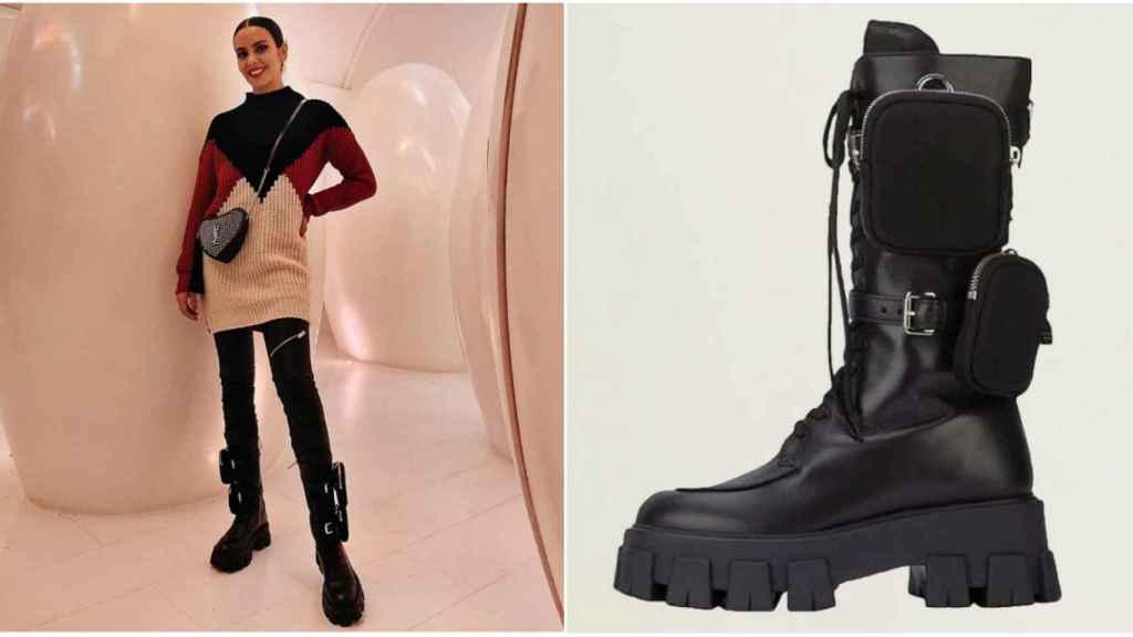 Cristina Pedroche tiene una nuevas botas que no son del gusto de todo el mundo.