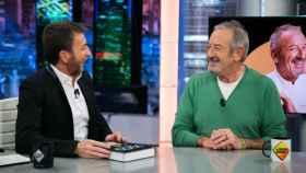 Pablo Motos y Karlos Arguiñano, en 'El Hormiguero'.