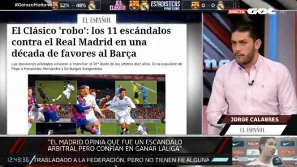 Jorge Calabrés: El vestuario del Real Madrid cree que van a ganar esta Liga