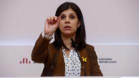 Marta Vilalta, portavoz de ERC.
