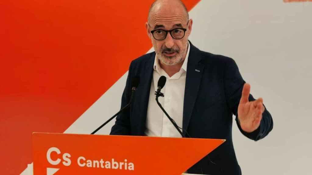 Félix Álvarez, 'Felisuco', exlíder de Ciudadanos en Cantabria.