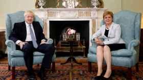 Boris Johnson y Nicola Sturgeon en una imagen de archivo.