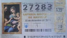 El número que ha sido robado en el supermercado de Huelva.