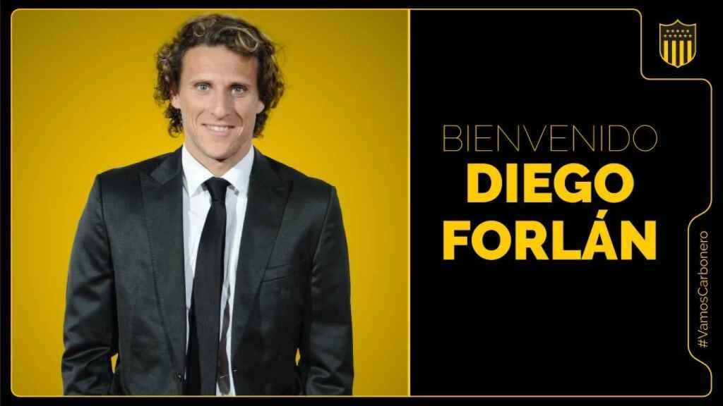 Diego Forlán, nuevo entrenador de Peñarol