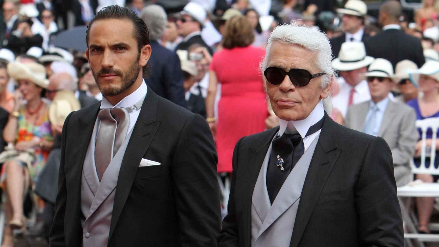 Sebastien Jondeau estuvo durante 20 años junto a Karl Lagerfeld.
