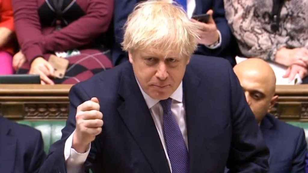 Boris Jonhson, primer ministro británico.