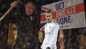 Gareth Bale y Boris Johnson
