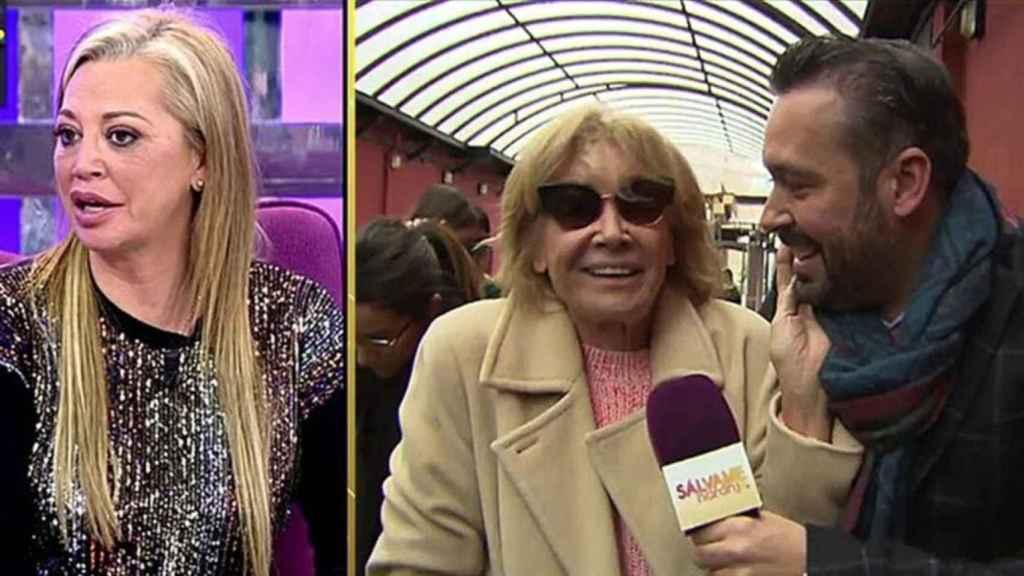 Belén Esteban ha explicado que mantiene una buena relación con Mila XIménez, a pesar de su actitud crítica con su concurso.