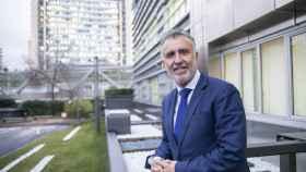 Ángel Víctor Torres, presidente de Canarias, esta semana en Madrid.