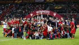 El Sevilla gana la Europa League 2015