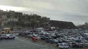 La llegada de marroquíes a Ceuta para pasar las fiestas navideñas en su país colapsa la frontera del Tarajal