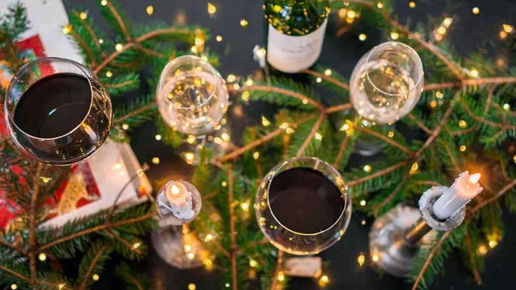 El alcohol tiende a verse implicado en los accidentes navideños.