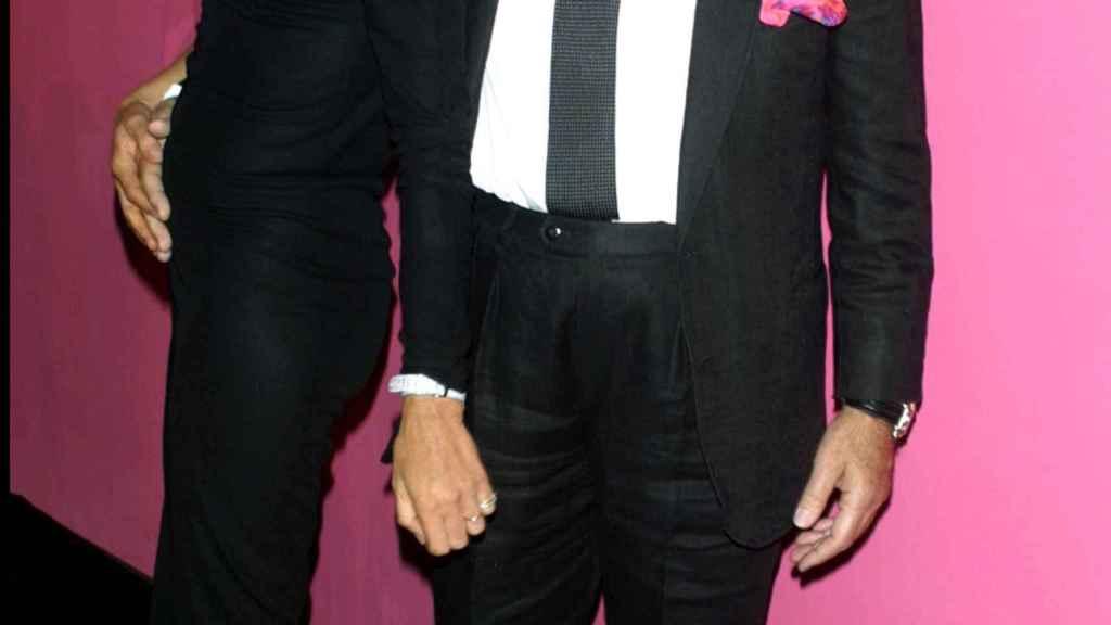Emanuel Ungaro junto a su mujer en una imagen de archivo.