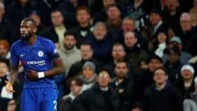 Rudiger en el Tottenham - Chelsea
