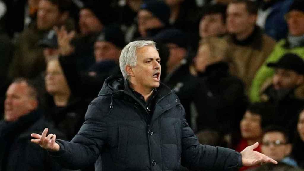 Mourinho en el Tottenham - Chelsea