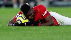 Paul Pogba, en un partido del Manchester United