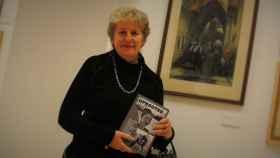 Lyn Julius, escritora e hija de refugiados judíos en Reino Unido, en el Centro Sefarad-Israel.