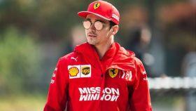 Charles Leclerc, durante un Gran Premio