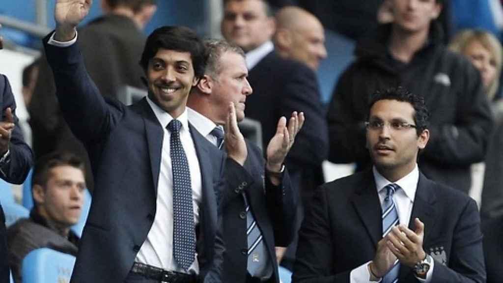 Mansour, jeque del Manchester City