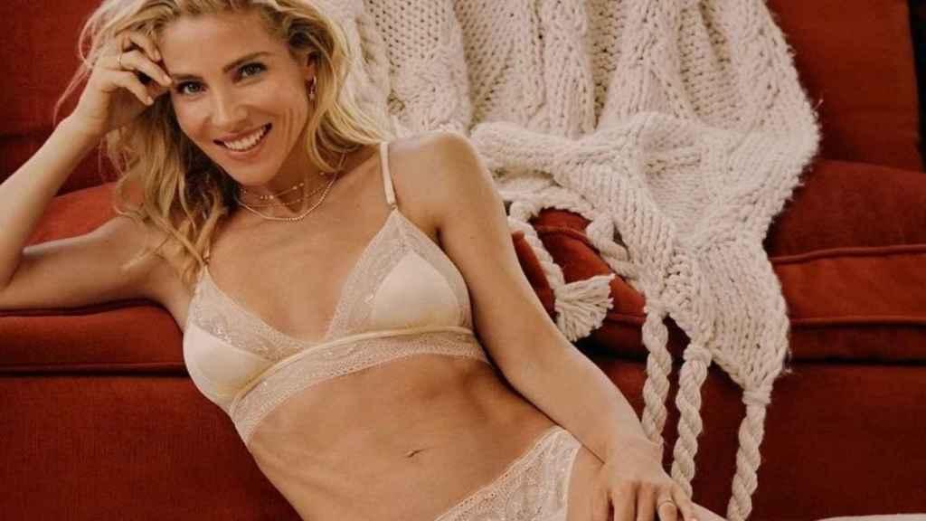 Elsa Pataky en una imagen de la campaña de Women'secret.