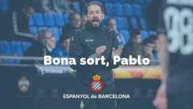 El Espanyol despide a Pablo Machín