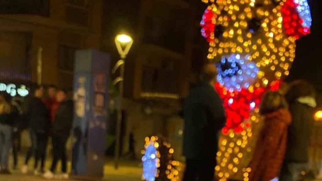 El polémico reno 'franquista' ahora permanece en silencio