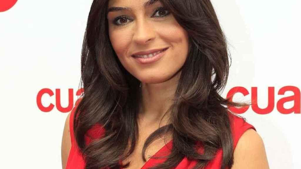 Marta Fernández, en la presentación de un programa.