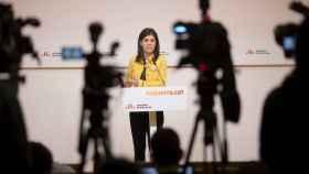 Marta Vilalta, portavoz de ERC y cara visible de la negociación por parte independentista, esta semana.