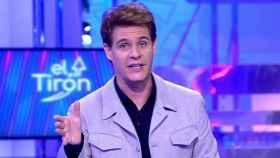 Christian Gálvez durante la emisión de un programa de 'El Tirón'.