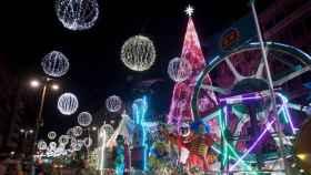 Las luces de Navidad de Vigo.